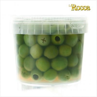 ラ・ロッカ グリーンオリーブ種無し小粒